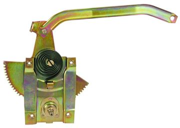 Picture of WINDOW REGULATOR LH 1965-66 : M3693 MUSTANG 64-66