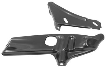 Picture of BUMPER FRONT BRACKET LH 68-72 2 PC : 1614B NOVA 68-72