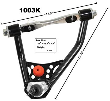 Picture of CONTROL ARM LH UPPER 67-69 TUBULAR : 1003K NOVA 68-74