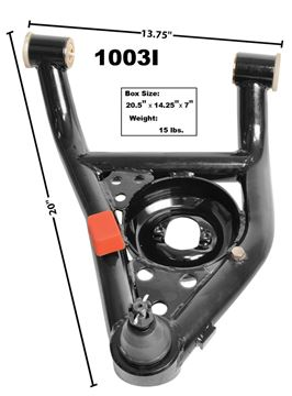 Picture of CONTROL ARM LOWER LH 67-69 TUBULAR : 1003I NOVA 68-74