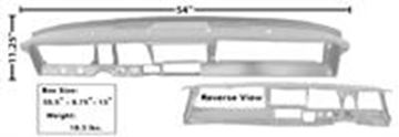 Picture of DASH STEEL PANEL 66-67 : 1642EWT NOVA 66-67