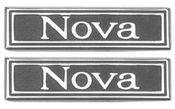 Picture of DOOR PANEL EMBLEM 69-72 PAIR : 7790751 NOVA 69-72