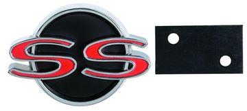 Picture of EMBLEM 66 SS GRILLE W/RETAINER : EM3042 NOVA 66-66