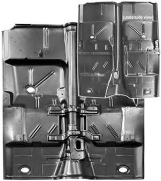 Picture of FLOOR PAN COMPLETE 1962-67 : 1636 NOVA 62-67