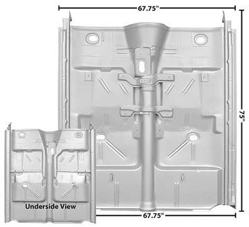 Picture of FLOOR PAN COMPLETE W/ROCKER 62-67 : 1636DWT NOVA 62-67