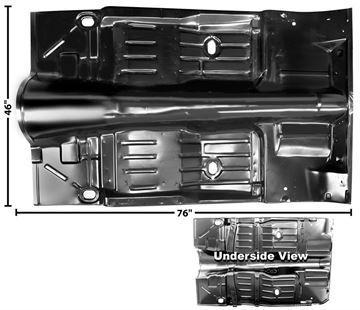 Picture of FLOOR PAN FULL 1968-74 : 1635A NOVA 68-74