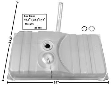 Picture of GAS TANK 75-79 W/NECK : T28C NOVA 75-79