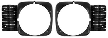 Picture of HEAD LAMP BEZEL 68 ONLY PAIR : M1670 NOVA 68-72