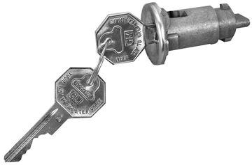Picture of LOCK IGNITION ORGINAL : 100A NOVA 66-67