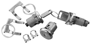 Picture of LOCK KIT IGNITION/DOOR LATER STYLE : 142 NOVA 62-64