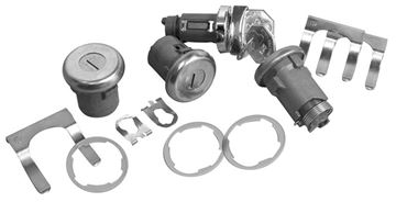 Picture of LOCK KITS IGNITION, DOOR, TRUNK : 266 NOVA 62-64