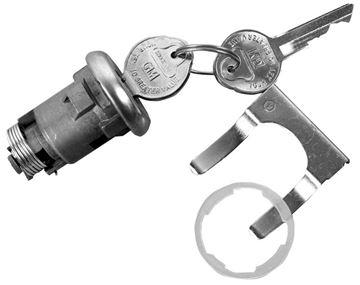 Picture of LOCK TRUNK ORIGINAL 1968 : 112B NOVA 68-68