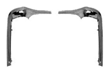 Picture of MOLDING EYEBROW 68-72 PAIR : M1636 NOVA 68-72