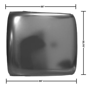 Picture of ROOF PANEL 66-67 : 1670 NOVA 66-67