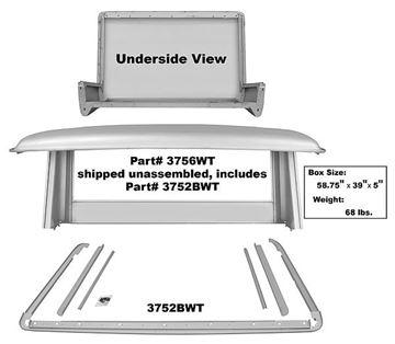 Picture of HALF CAB PANEL SET 1966-77 66-77 : 3756WT BRONCO 66-77
