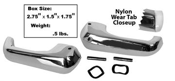 Picture of VENT WINDOW HANDLES W/NYLON TAB 68-77 : M3529E BRONCO 68-77