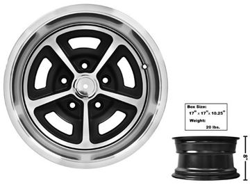 Picture of MAGNUM ALLOY WHEEL 15X8 W/CAP 64-81 : GW158 CAMARO 64-81