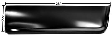 Picture of BED FRONT LOWER SEC. LH 60-66 60-66 : 1160QB CHEVY PICKUP 60-66