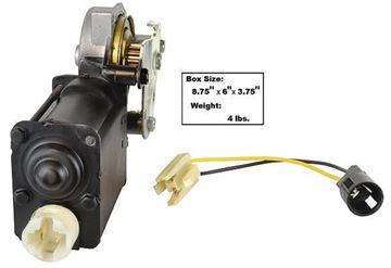 Picture of POWER WINDOW MOTOR LH CHEVELLE : 1463KM CHEVELLE 64-68