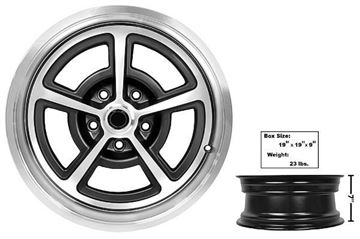 Picture of DISCONTINUED : GM MAGNUM ALLOY WHEEL 17 X 7 : GW177