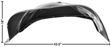 Picture of INNER FENDER LH 81-87 81-87 : 1099HD CHEVY PICKUP 81-87