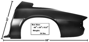 Picture of QUARTER PANEL FULL LH 74-81 74-81 : 1066KK CAMARO 74-81