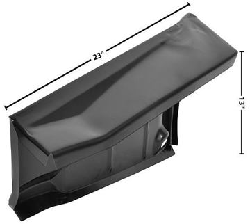Picture of TRUNK FLOOR DROP OFF RH 75-81 75-81 : 1048ZE FIREBIRD 75-81