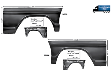 Picture for category Sheet Metal : Bronco