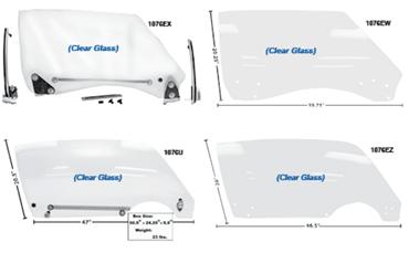 Picture for category Door Windows & Seals : Camaro