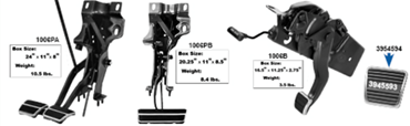 Picture for category Brake Pedal Assemblies : Camaro