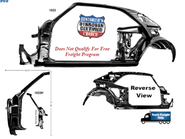 Picture for category Quarter/Door Frame Assemblies : Camaro