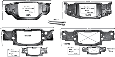 Picture for category Radiator Support : Camaro