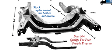 Picture for category Subframe : Camaro