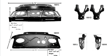 Picture for category Trunk Dividers/Pkg Shelf : Camaro