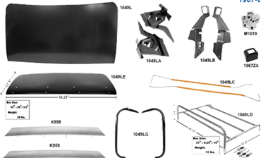 Picture for category Trunk Lid : Camaro