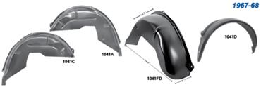 Picture for category Wheelhouses : Camaro