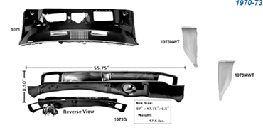 Picture for category Windshield & Cowl Panels : Camaro