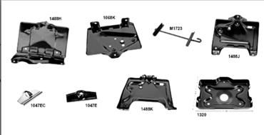 Picture for category Battery Tray : Chevelle
