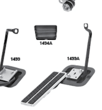 Picture for category Brake & Cluth Pedal : Chevelle