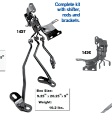 Picture for category Shifter Assemblies : Chevelle