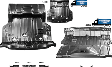 Picture for category Floor Pans : Chevelle