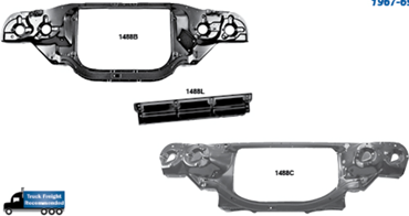 Picture for category Radiator Support : Chevelle