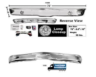 Picture for category Front Bumper : Chevy Pickup