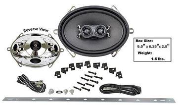 Picture of DASH SPEAKER 5X7 DUAL VOICE COIL : AMR-57UK CAMARO 67-69