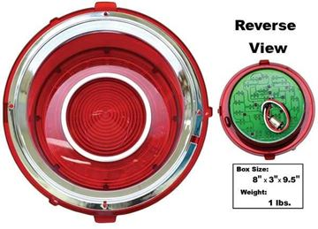 Picture of TAIL LAMP ASSY LED RH 70-73 : CTL7073LED-R CAMARO 70-73