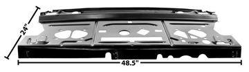 Picture of PACKAGE SHELF PANEL W/REINFORCMENT* : 1462ZD CHEVELLE 68-72