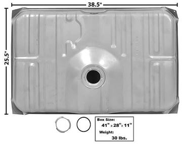 Picture of GAS TANK 73 19 GAL. : T31A CHEVELLE 73-73