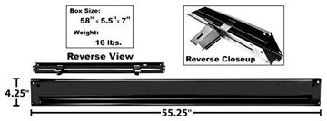 Picture of BED REAR CROSS SILL 67-72 STEPSIDE : 1107RA CHEVY PICKUP 67-72