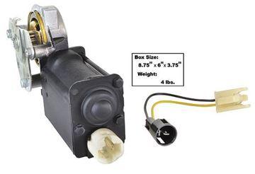 Picture of POWER WINDOW MOTOR RH CAMARO 67-68 : 1463JM CHEVY PICKUP 77-81