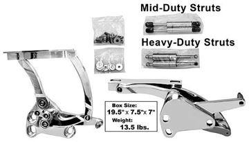Picture of BILLET HOOD HINGE 67-72 PAIR : BH50 CHEVY PICKUP 67-72